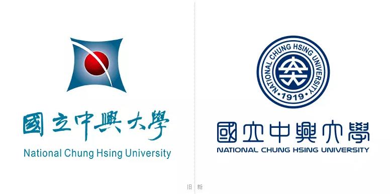 """台湾""""国立""""中兴大学新旧LOGO.png"""