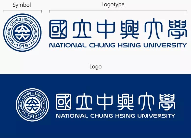 """台湾""""国立""""中兴大学更换新LOGO设计图3.png"""