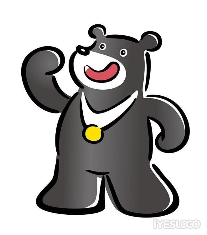 「台湾黑熊」同时也是濒临绝种的保育类动物,希望藉由这场世界型体育