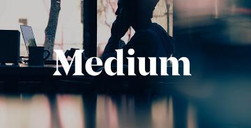 知名社交博客平台Medium时隔两年再次更换新LOGO