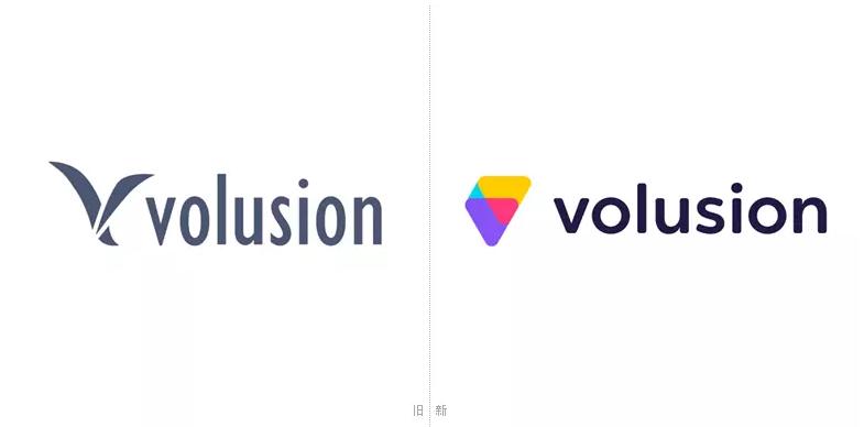 美国知名电子商务网站平台Volusion更换新LOGO.png