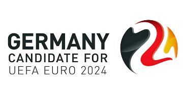 德国正式公布了申办2024年欧洲杯的申办LOGO