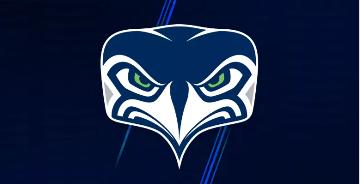 职业美式橄榄球球队西雅图海鹰启用新队徽