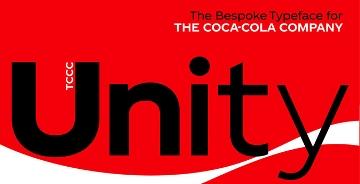 可口可乐推出了品牌定制字体