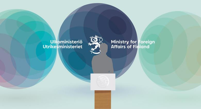 芬兰外交部更换全新动态logo