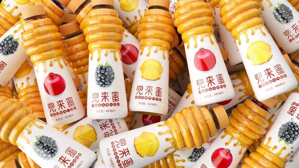 高鹏设计-果汁蜂蜜饮料包装设计2.jpeg