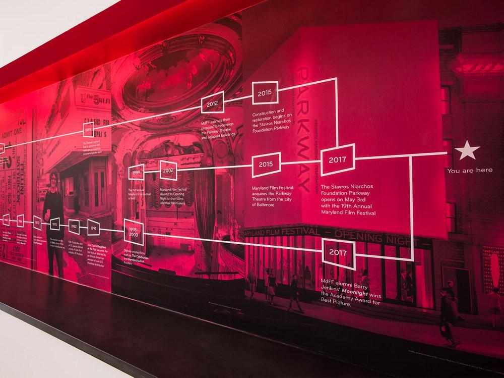马里兰电影节视觉形象-中国设计网图片