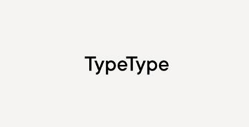 字体公司TypeType Foundry的品牌新形象