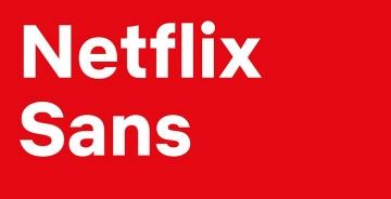 流媒体巨头Netflix 推出品牌定制字体