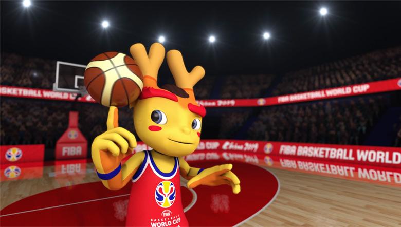 """2019中国男篮世界杯吉祥物""""梦之子""""发布10.jpg"""