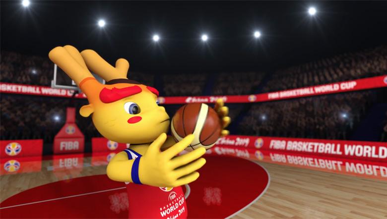 """2019中国男篮世界杯吉祥物""""梦之子""""发布9.jpg"""