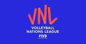 """国际排联""""国家排球联赛""""全新赛事logo"""