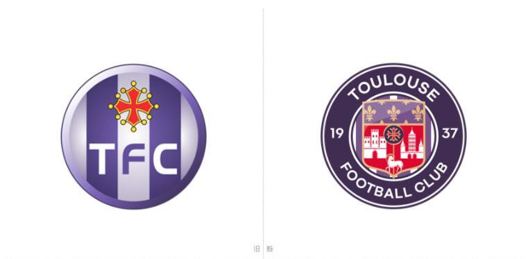 法国图卢兹足球俱乐部发布全新队徽1.jpg