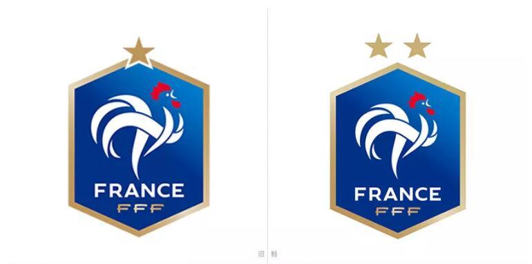 为庆夺冠,法国足协更新国家队logo规划