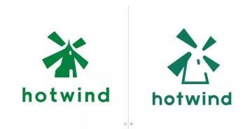 国内零售连锁品牌热风Hotwind更换新logo