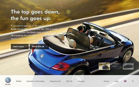 """因为除了展示汽车的""""速度""""外,还有什么特性能让汽车品牌显得更好呢?"""