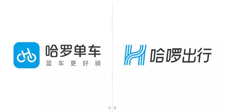 """哈罗单车更名""""哈罗出行""""并启用新logo1.jpg"""