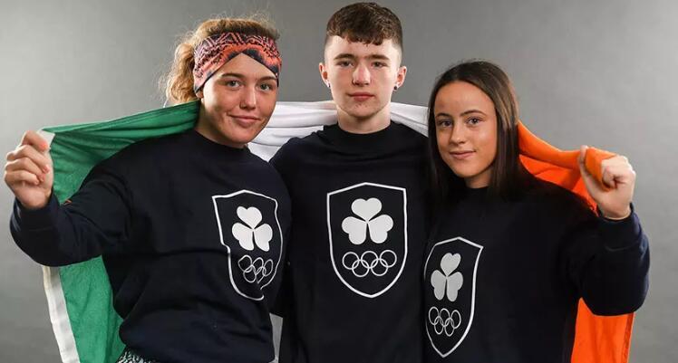 """爱尔兰奥林匹克联合会启用""""三叶草""""新logo"""