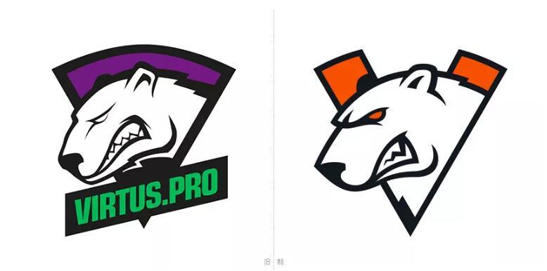 老牌电竞俱乐部virtus.pro更换logo1.jpg