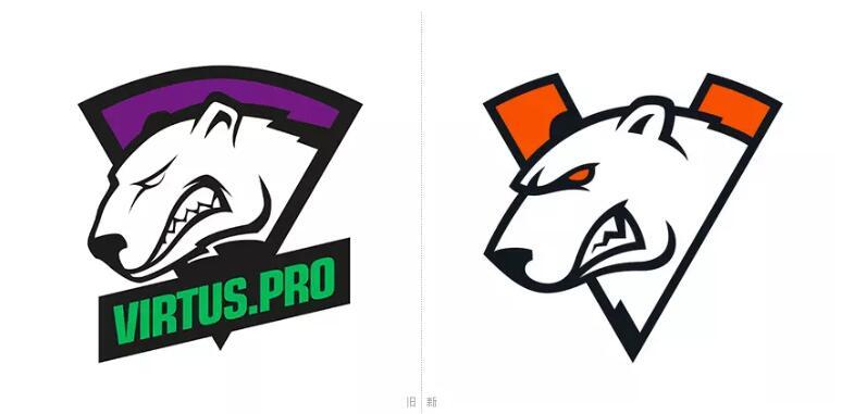 老牌电竞俱乐部virtus.pro更换logo3.jpg