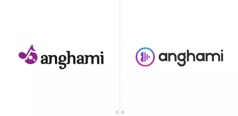"""阿拉伯版""""网易云音乐""""anghami更换新logo"""