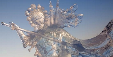17国艺术家、51座冰雕艺术精品 给你一场眼部spa