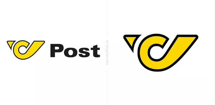 奥地利邮政启用新logo.jpg