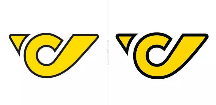 奥地利邮政启用新logo1.jpg