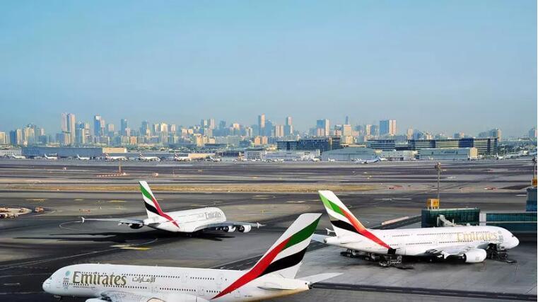 迪拜机场启用新logo和标语