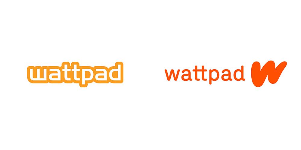 电子书阅览和写作渠道wattpad启用新logo