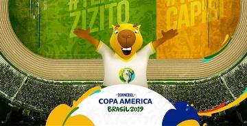 2019年美洲杯吉祥物公布