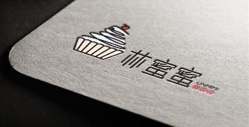 林蜜蜜甜品店logo设计过程