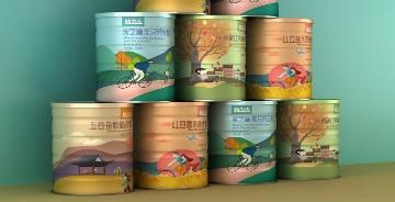 【智圓行方品牌設計】插畫賦予產品包裝設計新潮時尚的產品調性