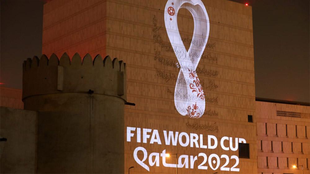 2022年卡塔尔世界杯LOGO刚露脸就被网友玩坏了!