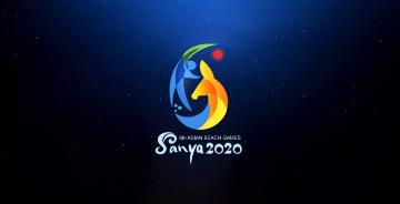 第六屆亞洲沙灘運動會會徽和中英文口號發布