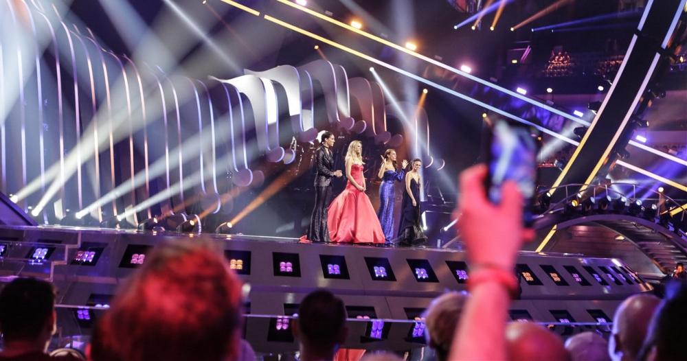 2020年欧洲歌唱大赛Logo发布,新标志交融了41个争国家的国旗