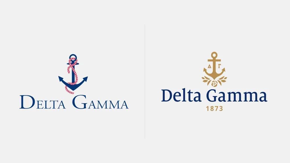 """女生联谊会""""Delta Gamma""""视觉形象晋级"""