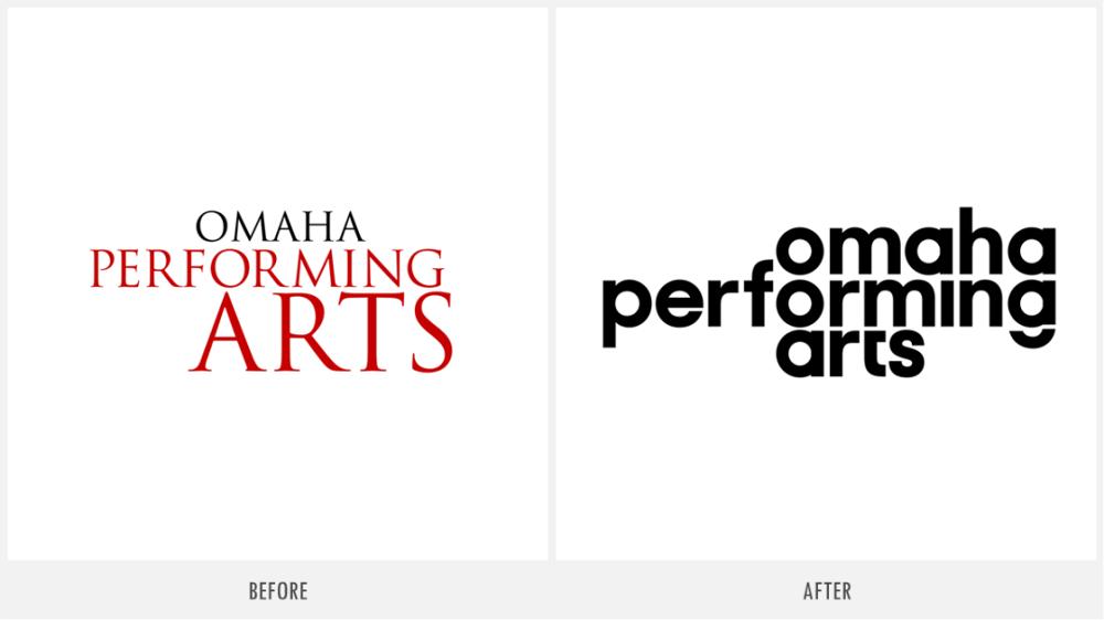 "艺术组织""Omaha Performing Arts""视觉形象晋级"