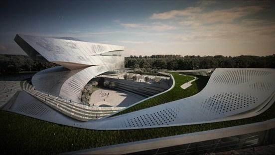 大连图书馆建筑设计国际竞赛方案