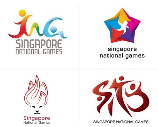 新加坡首届全国运动会会徽和吉祥物出炉