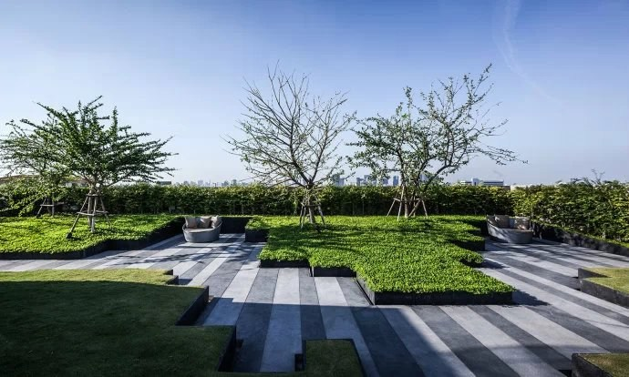 现代的空中花园——各种风格屋顶花园设计